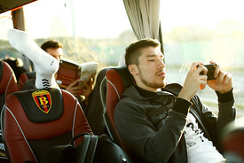 Alex DUJSHEBAEV of Vardar during the Final Tournament - Final Four - SEHA - Gazprom league, team arrival in Varazdin, Croatia...