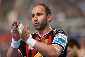Mirsad TERZIĆ of Vardar during the Final Tournament - Final Four - SEHA - Gazprom league, semi finals match, Varazdin, Croati...