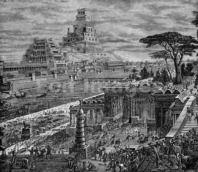 Capture of Babylon by Persians