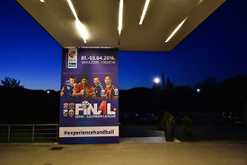 the Final Tournament - Final Four - SEHA - Gazprom league, team arrival in Varazdin, Croatia, 30.03.2016, ..Mandatory Credit...