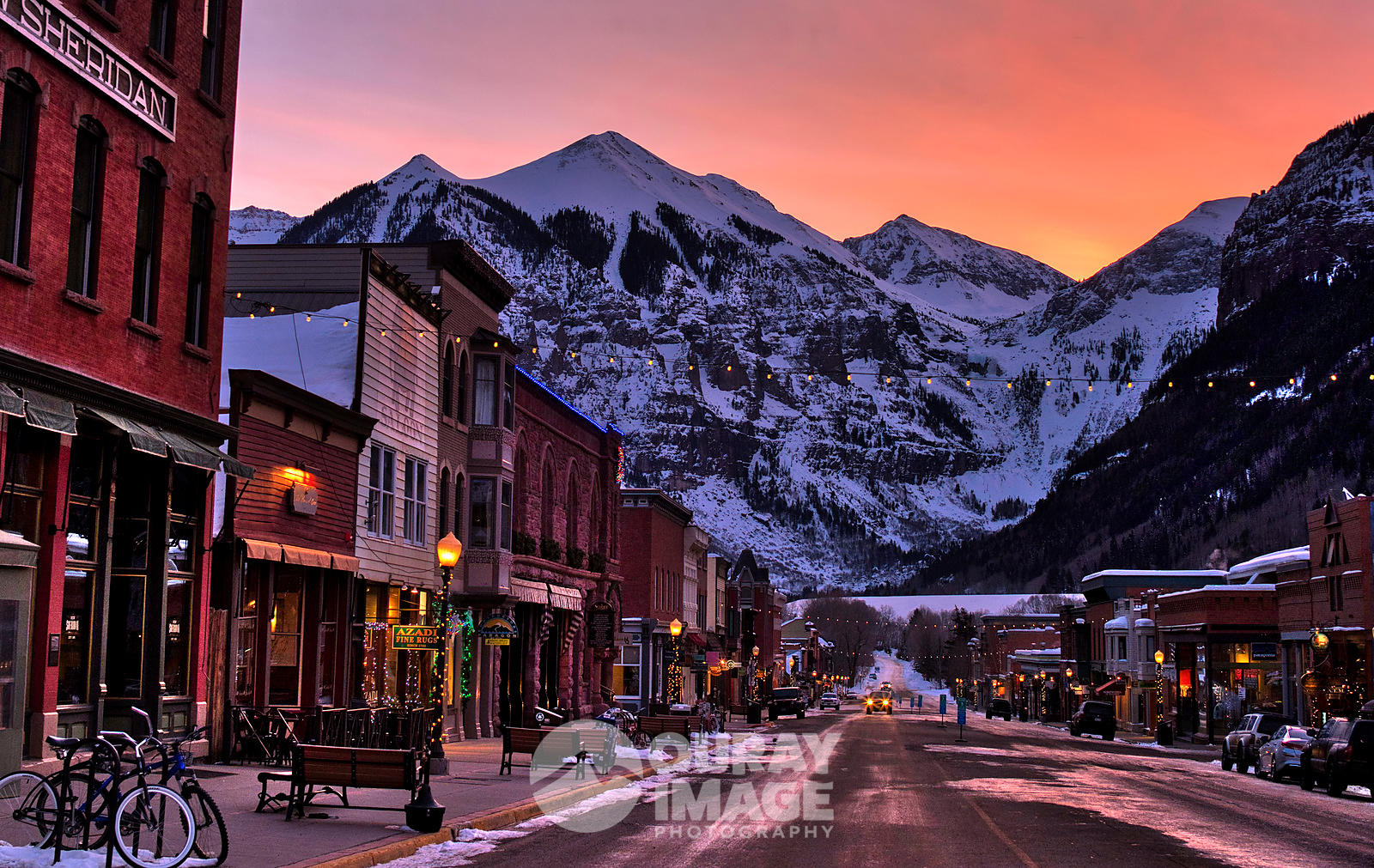 Telluride Winter Sunrise