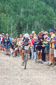 NED OVEREND PURGATORY, COLORADO, USA. UCI WORLD CHAMPIONSHIPS 1990