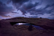 Twilight Storm Through Mesa Arch I