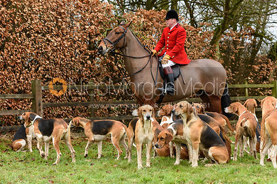 The Belvoir Hunt at Eaton Grange 7/2