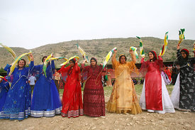 Iran-Shiraz ,. traditional wedding in Iran,Their dance is called the Halay-dance and its something for itself. After the men ...