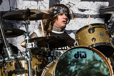 Stix Zadinia, drums, Steel Panther