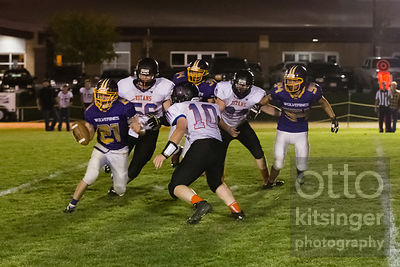 Football: Tri-Valley at Garden Valley 10/10/14