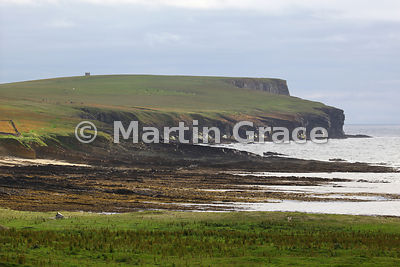 Birsay Bay looking toward Marwick Head, West Mainland, Orkney