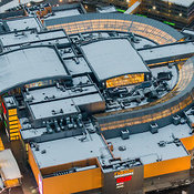 Moscow Shopping Malls aerial photos
