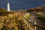 Path to Leasowe Lighthouse