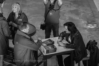 Steve Hogarth book signing