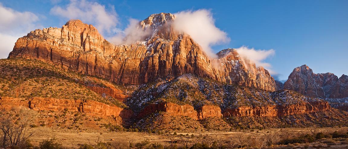 Clearing Storm Over Zion #2