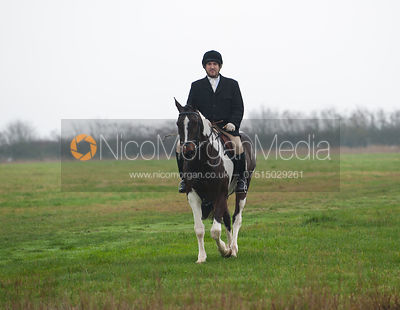 Russell Cripps - The Cottesmore Hunt at Ranksborough 22/11/11