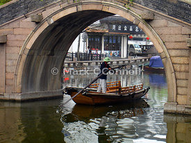 Zhouzhuong water village China ',