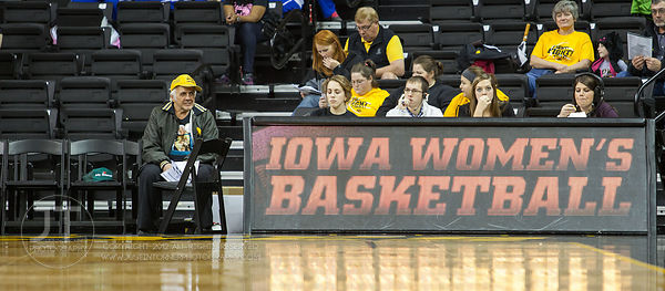 Iowa Hawkeyes vs University of Northern Iowa Panthers Womens Basketball, December 2, 2012