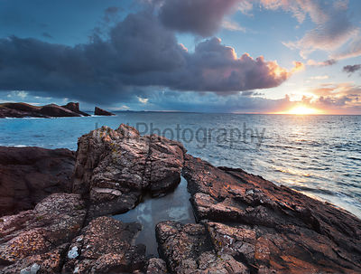 Split Rock at Sunset - Landscape Photography