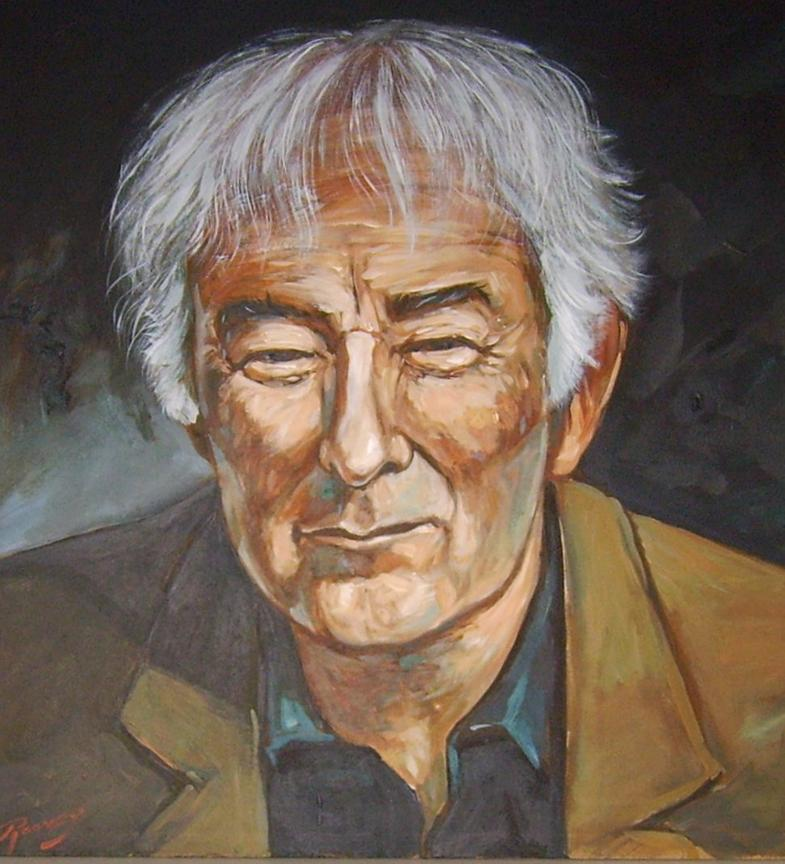 Portrait of Seamus Heaney