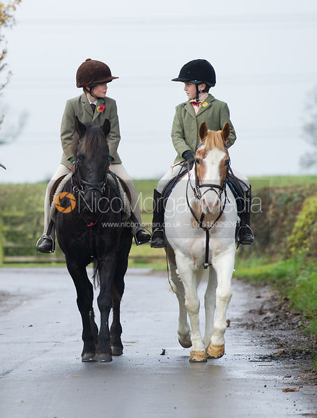 Cottesmore Hunt at Tilton on the Hill 10/11