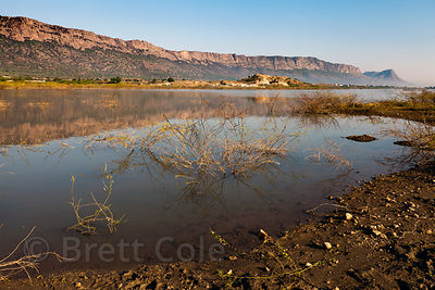 Foy Sagar lake, near Ajmer, Rajasthan, India