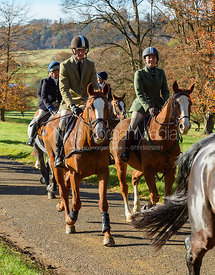 The Belvoir Hunt at the Kennels 13/11
