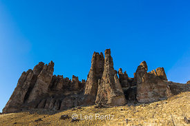Clarno Palisades in Clarno Unit of John Day Fossil Beds National Monument