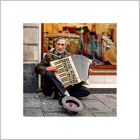 1st December 2012 - Accordionist with the Cap - Catania, Sicily (Italy)