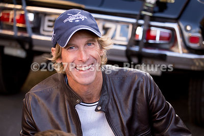 Michael Bay director of Transformers5: The Last Knight smiling at the camera