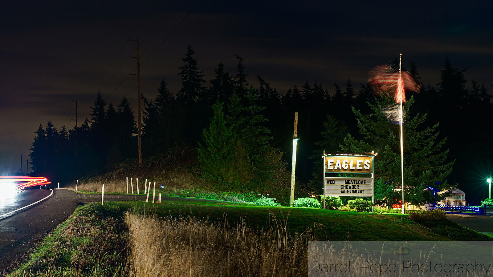 Whidbey At Night
