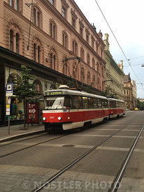 Tram in Brno, one of the oldest permanently used networks in the World