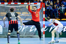 Strahinja Milic during the Final Tournament - Final Four - SEHA - Gazprom league, Gold Medal Match Vardar - Telekom Veszprém,...