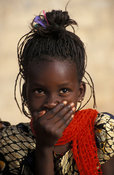 Girl, St-Louis, Senegal