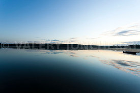 photo: le lac de vioreau