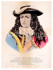 King William III Prince of Orange, born November 4th 1650, died March 8th 1701