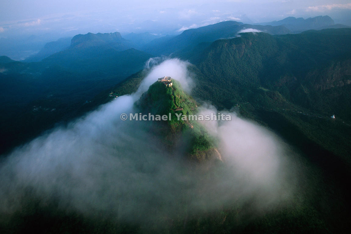 "Zheng He, as did every explorer who visited Sri Lanka, made comment about Adam's Peak, ""There is a large mountain which penet..."