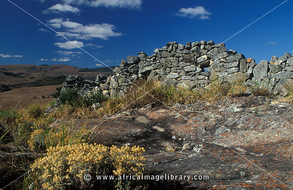 Nyangwe Fort ruins, Nyanga National Park, Eastern Highlands, Zimbabwe