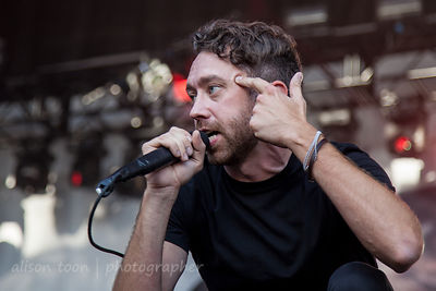Tim McIlrath of Rise Against, Aftershock 2014