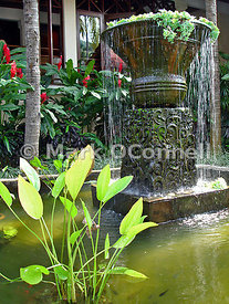 Water feature Bali