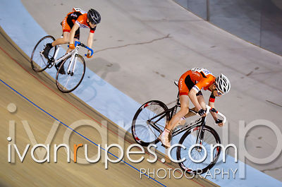 U15 Men Sprint 1/4 Final, Ontario Track Championships, Day 2, April 11, 2015