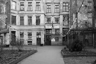 BERLIN, FEBRUARY 28: The Clarchens Ballhaus, Auguststrasse Berlin Mitte on February 28 2016. Formerly a ballroom, now a night...