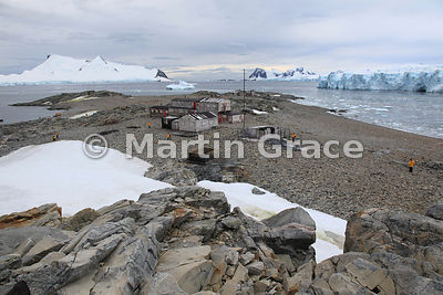 British Antarctic Survey Base E on Stonington Island, Marguerite Bay, Antarctic Peninsula