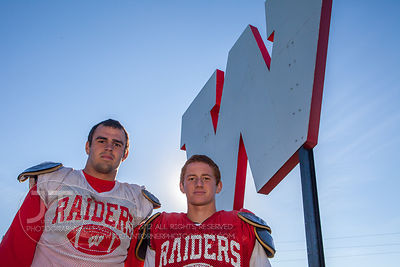 Williambsburg Raiders Defense Stars