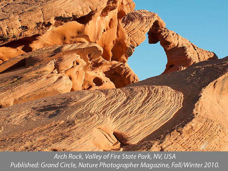 Arch Rock, Valley of Fire State Park, Nevada, USA