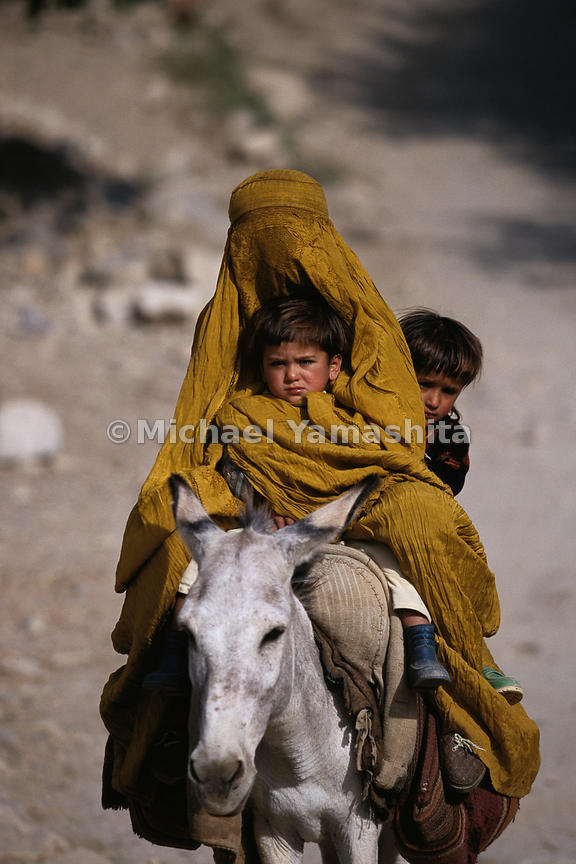Time seems to have stopped in many parts of Afghanistan, where often the best mode of transportation is donkey-back, just as ...
