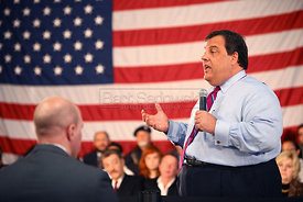 New Jersey Gov. Chris Christie