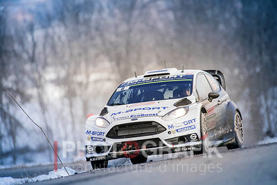 Key words: Ott Tänak / M-Sport / Ford Fiesta RS / 2015 / rally / motorsport / Monte-Carlo..Copyright: Sarah Vessely / Photografik / McKlein