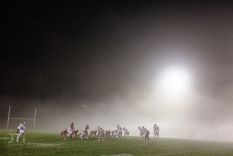 Prep Football Iowa City High vs Muscatine, October 24, 2014