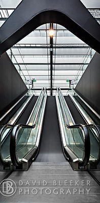 Escalators, Rotterdam CS.