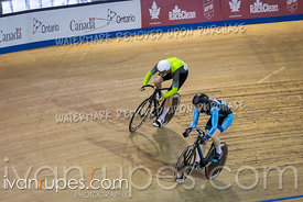 Men Sprint 1/2 Final. Ontario Track Championships, March 2, 2019