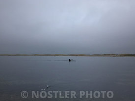 Lonely kayaker