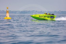 Dirty Deeds, B88, Fortitudo Poole Bay 100 Offshore Powerboat Race, June 2018, 20180610230